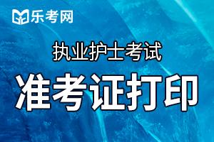 北京2020护士执业资格考试准考证打印入口已开通!