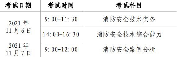 北京2021年一级注册消防工程师考试报名工作通知